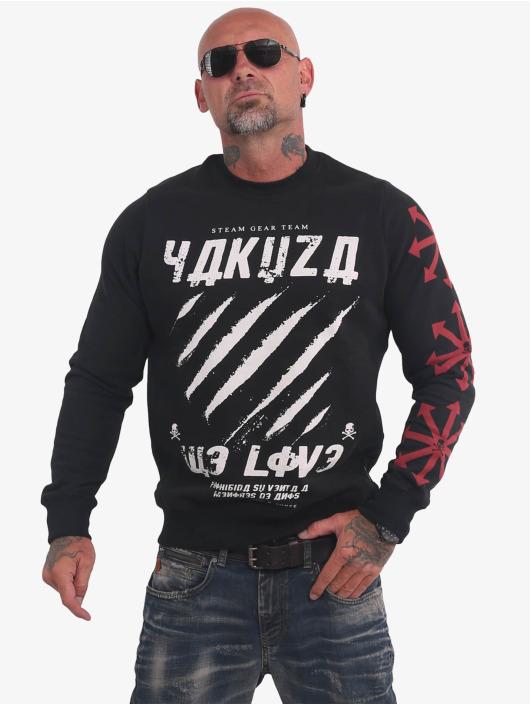 Yakuza Pullover We Love black