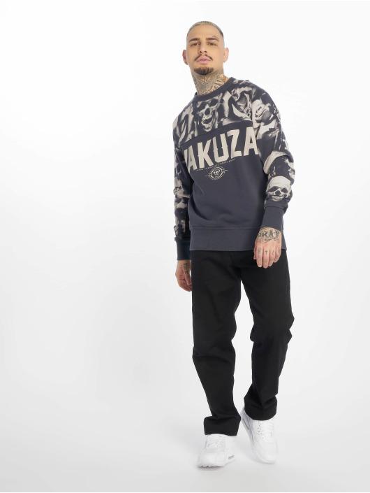 Yakuza Pullover Sick N Fxck gray