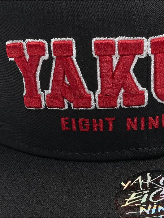 Yakuza Snapback Cap 893 College black