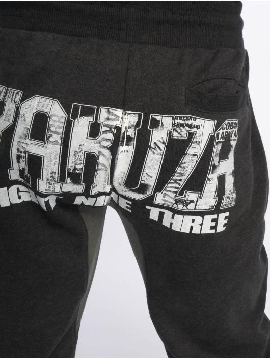 Yakuza Sweat Pant Badge black