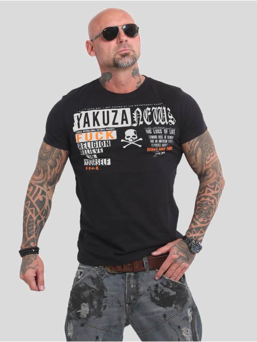Yakuza T-Shirt News black