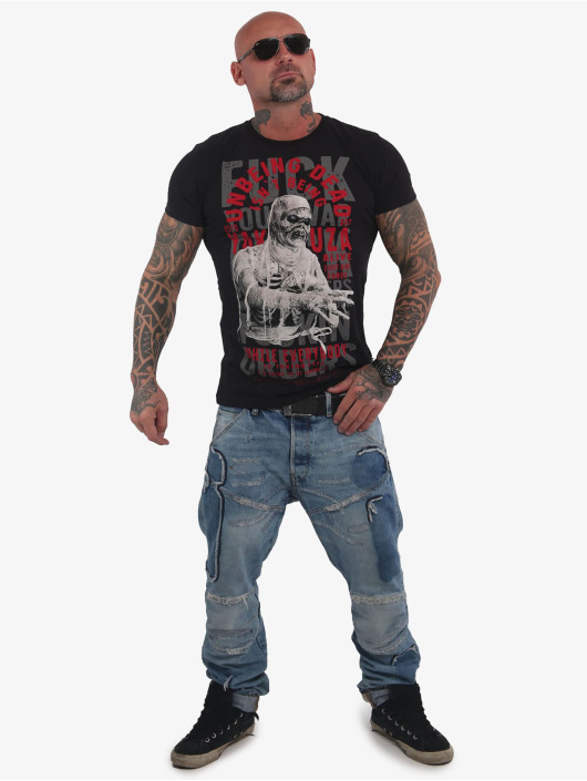 Yakuza T-Shirt Unbeing black
