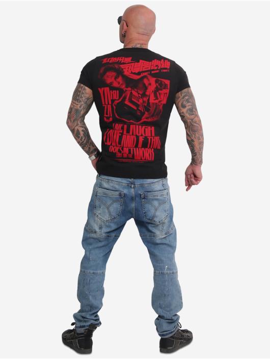 Yakuza T-Shirt Live Laugh Love black