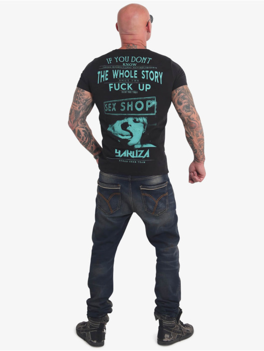 Yakuza T-Shirt XXX Shop black