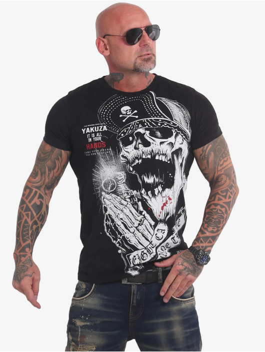 Yakuza T-Shirt Carnal black