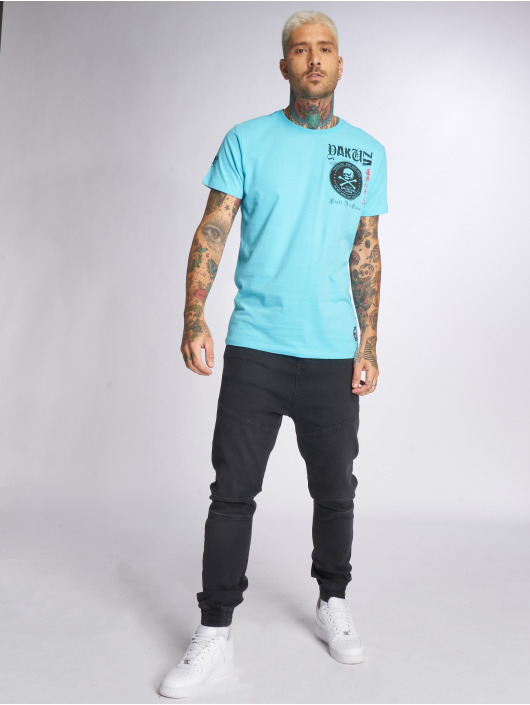 Yakuza T-Shirt Columbian blue