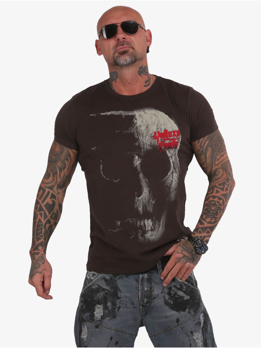 Yakuza T-Shirt 2Word brown
