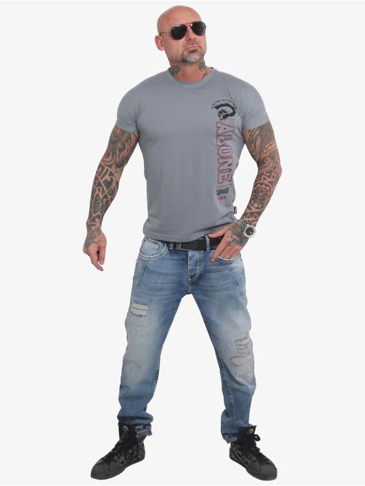 Yakuza T-Shirt Bad Company gray