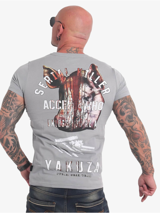 Yakuza T-Shirt Swine gray