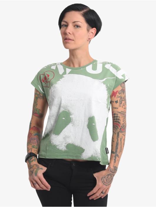 Yakuza T-Shirt Panda Box Fit green