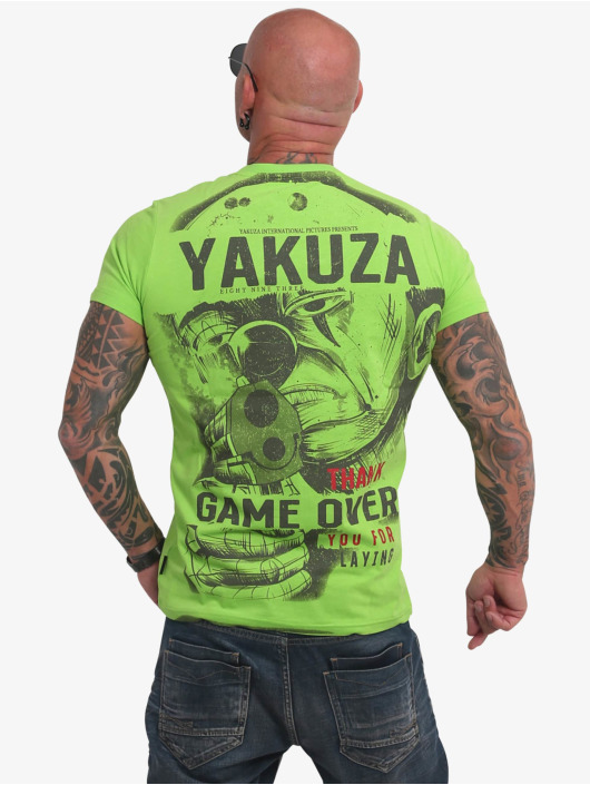 Yakuza T-Shirt Hating Clown green
