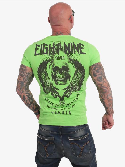 Yakuza T-Shirt Inevitable green