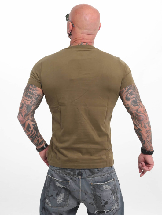 Yakuza T-Shirt Basic Line 4W olive