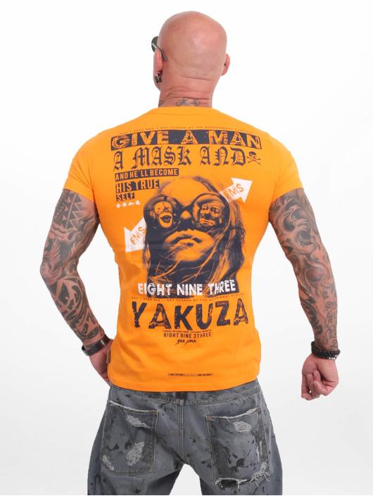 Yakuza T-Shirt Fly orange