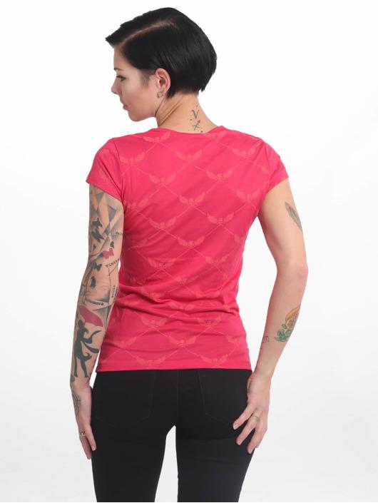Yakuza T-Shirt Crests V Neck red