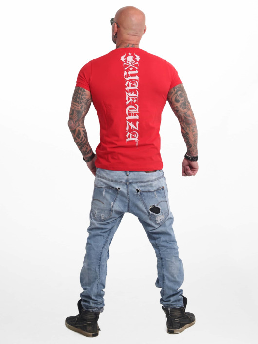 Yakuza T-Shirt Own Head red