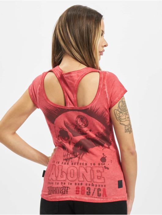 Yakuza T-Shirt Bad Company Racerback red