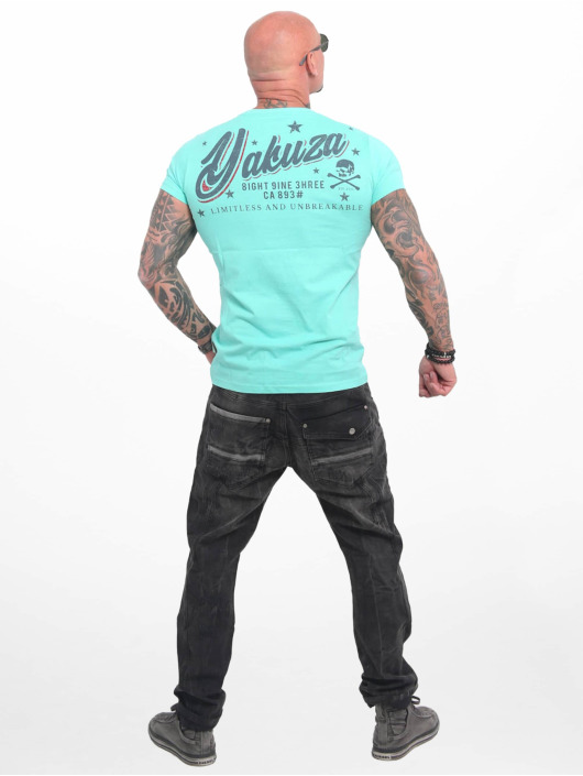 Yakuza T-Shirt Everything Ok turquoise