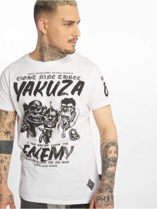 Yakuza T-Shirt Enemy white
