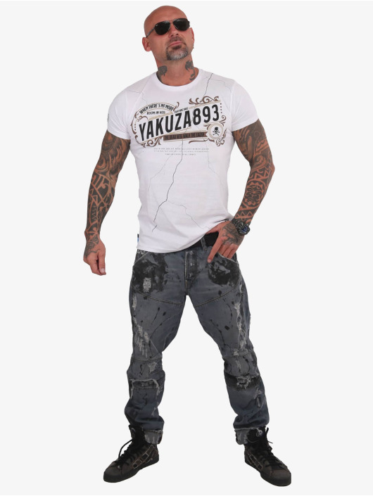 Yakuza T-Shirt Room In Hell white