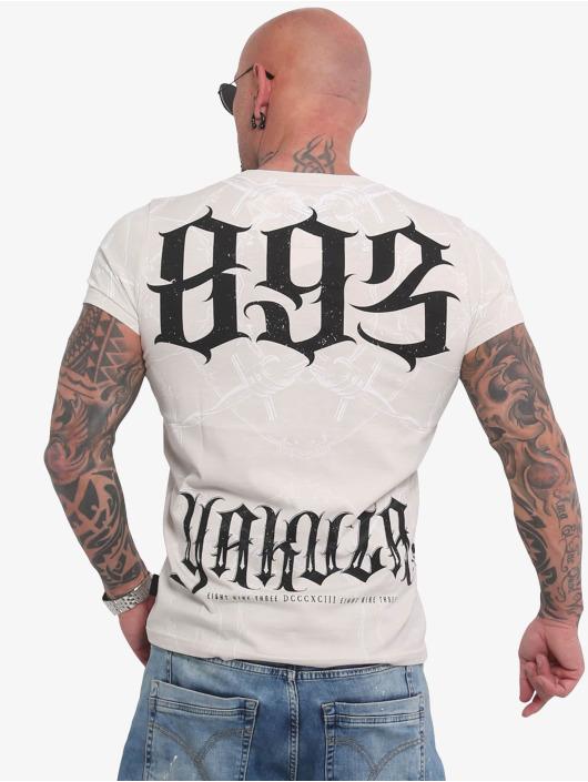 Yakuza T-Shirt Barbwire white