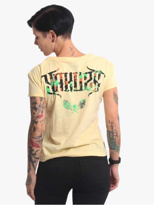 Yakuza T-Shirt Angel Box Fit yellow