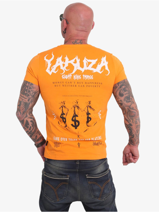 Yakuza T-Shirt Buy Happiness yellow