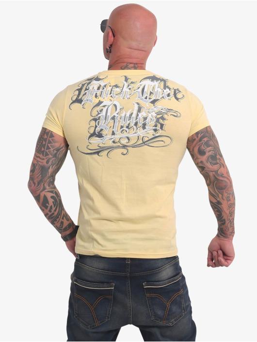 Yakuza T-Shirt Glory yellow