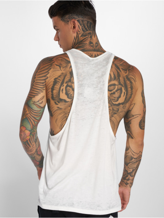 Yakuza Tank Tops Japanese white