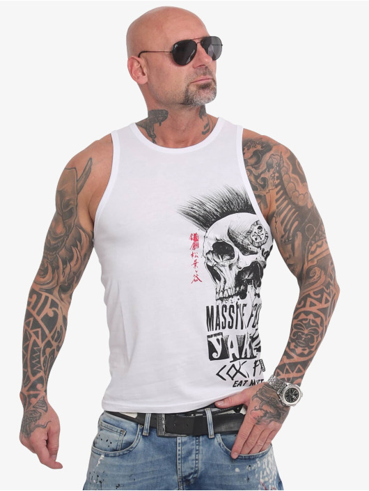 Yakuza Tank Tops Massive white