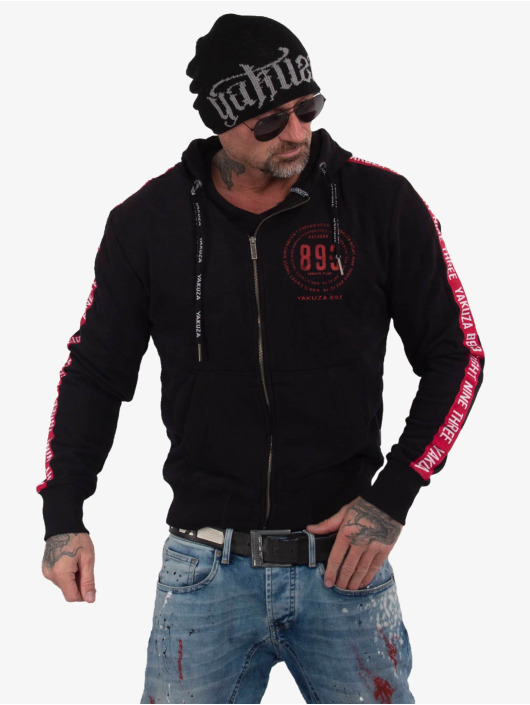 Yakuza Zip Hoodie War Is Sweet black