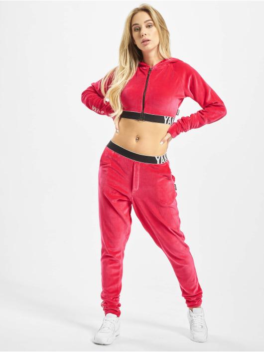 Yakuza Zip Hoodie Active S&F Sport pink