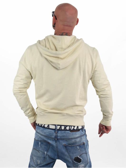 Yakuza Zip Hoodie Basic Line 4W white