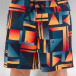 Quiksilver Badeshorts Check Remix Volley 17 blue 4