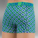 Zaccini Boxer Short Ocean Square green 2