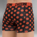 Zaccini Boxer Short Royal Dots orange 2