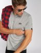 Alpha Industries T-Shirt Basic Small Logo gray 0