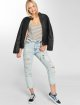 Dr. Denim High Waisted Jeans Nora Ripped To Mom blue 5