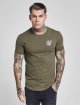 Sik Silk T-Shirt Gym khaki 0