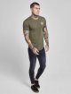 Sik Silk T-Shirt Gym khaki 1