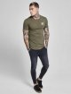 Sik Silk T-Shirt Gym khaki 2