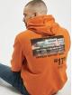 """Aarhon Hoodie """"17"""" orange"""