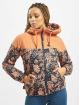 Alife & Kickin Winter Jacket Black Mamba orange