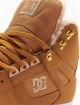 DC Sneakers Pure High Top Wnt brown 6