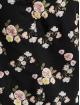 Fresh Made Blouse/Tunic Flowers black