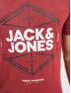 Jack & Jones T-Shirt jcoFebby red
