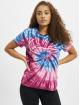 Karl Kani T-Shirt Kk Signature Tie Dye pink