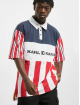 Karl Kani T-Shirt Retro Block Stripe white