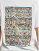 Merchcode T-Shirt Where Is Wally Corridors Of Time white