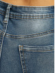 Missguided High Waisted Jeans Sinner Knee Distress blue